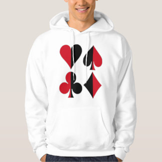 Heart Spade Diamond Club Hoodie