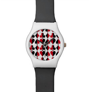 Heart Spade Diamond Club Watch