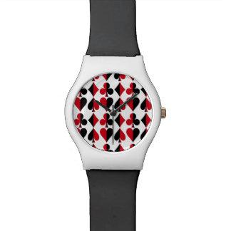 Heart Spade Diamond Club Wristwatches