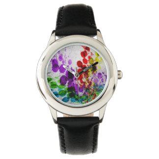 Heart Splatter Wristwatch