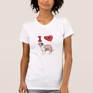 heart st  bernard T-Shirt