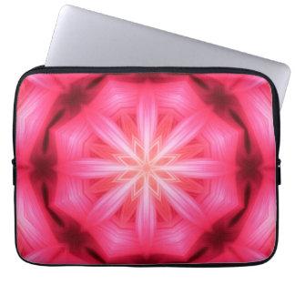 Heart Star Mandala Laptop Sleeve