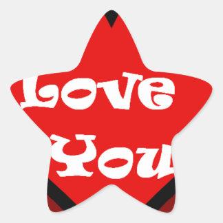 heart. star sticker