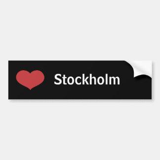 Heart Stockholm Bumper Sticker