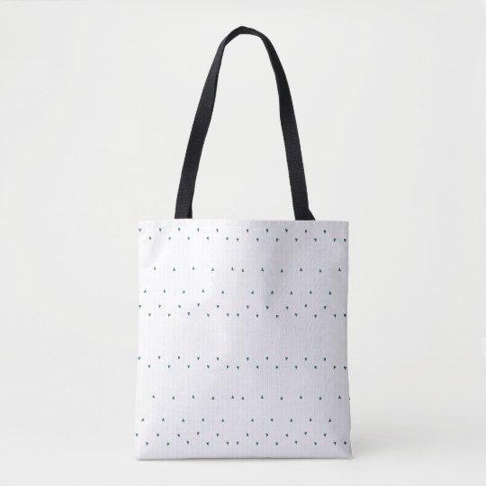Heart Stripes Tote Bag