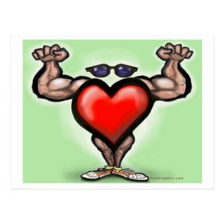 Heart Strong Postcard