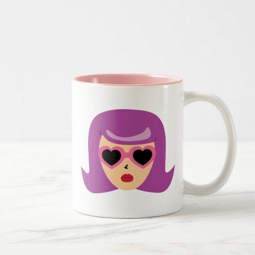 Heart Sunglasses Mugs