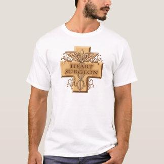 Heart Surgeon Caduceus Men's Basic T-Shirt
