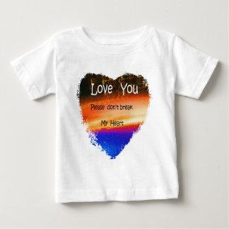 HEART SWEETHEART LOVE BABY T-Shirt