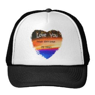 HEART SWEETHEART LOVE TRUCKER HAT