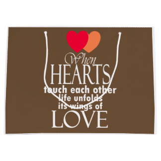 Heart Symbol Love Famous Quote On Gift Bags