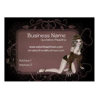 Heart Tag Elf Design - Fantasy Business Cards