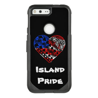 Heart Tattoo Island Pride U.S.A OtterBox Commuter Google Pixel Case