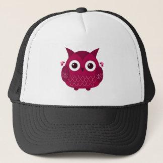 Heart the Pink Owl Trucker Hat