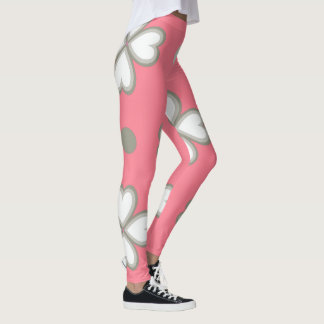 Heart theme IX Leggings