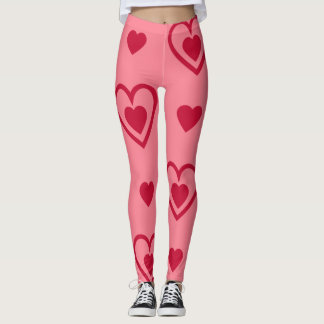 Heart theme VIII Leggings