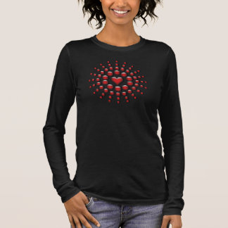 Heart Throb Fashion Blouse Long Sleeve T-Shirt