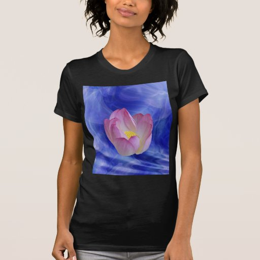 Heart to heart lotus flower t shirt