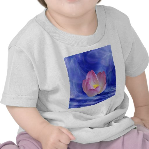 Heart to heart lotus flower shirts