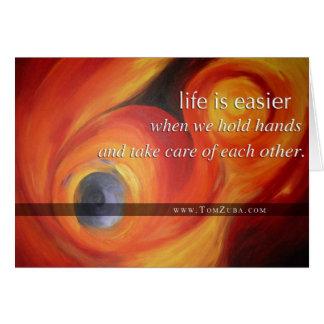 Heart-touching Sympathy Card