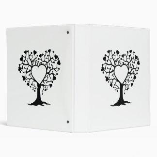 Heart Tree 3 Ring Binders