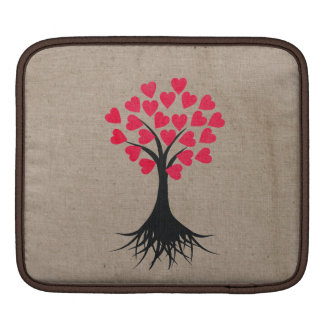 Heart Tree iPad Sleeve