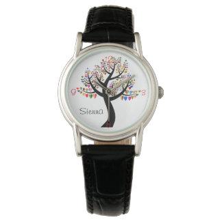 Heart Tree Love Watch Numbers Name