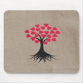 Heart Tree Mousepad