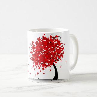 Heart tree mug valantines day