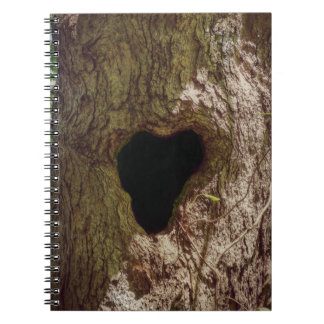 Heart Tree Spiral Notebook