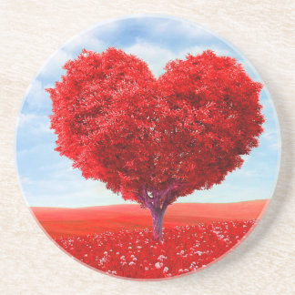 Heart Tree Valentine Coaster