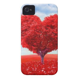 Heart Tree Valentine iPhone 4 Cases