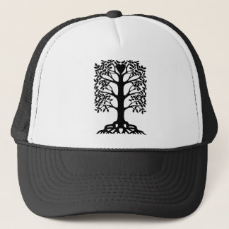 Heart Tree With Roots Trucker Hat