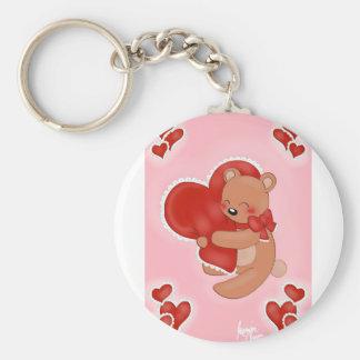 Heart Warming Teddybear Keychain