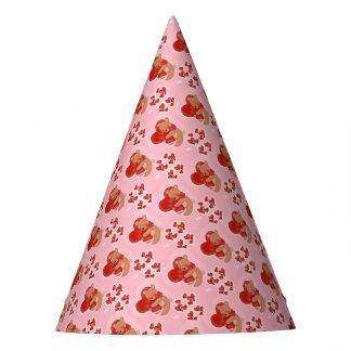 Heart Warming Teddybear Party Hat