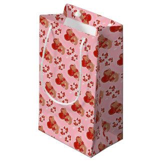 Heart Warming Teddybear Small Gift Bag