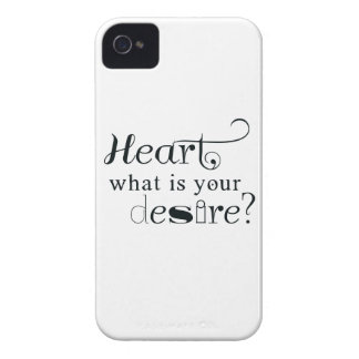 Heart, what is your desire? iPhone 4 Case-Mate cases