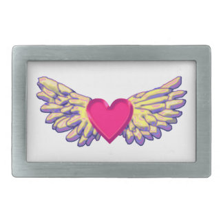 heart Wings Belt Buckles