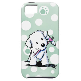Heart Wings Bichon Frise iPhone 5 Cases