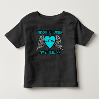 Heart/Wings...Dysautonomia Toddler T-shirt