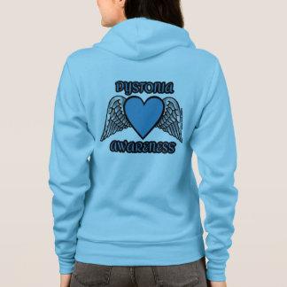 Heart/Wings...Dystonia Hoodie