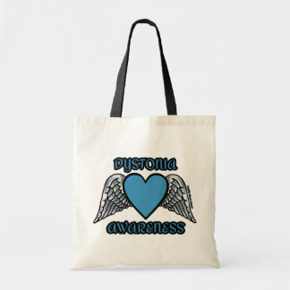 Heart/Wings...Dystonia Tote Bag