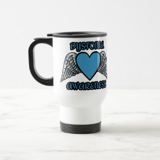 Heart/Wings...Dystonia Travel Mug
