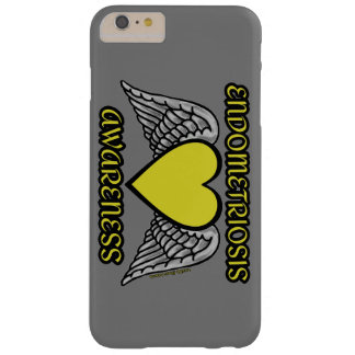Heart/Wings...Endometriosis Barely There iPhone 6 Plus Case