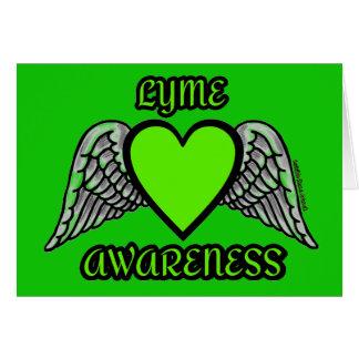 Heart/Wings...Lyme Card