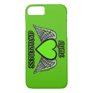 Heart/Wings...Lyme iPhone 8/7 Case