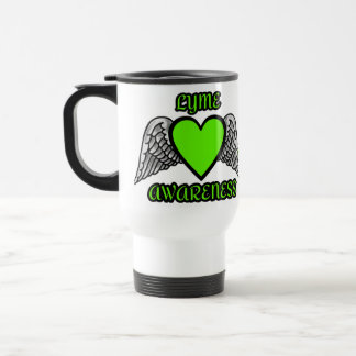 Heart/Wings...Lyme Travel Mug