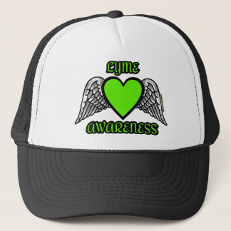 Heart/Wings...Lyme Trucker Hat