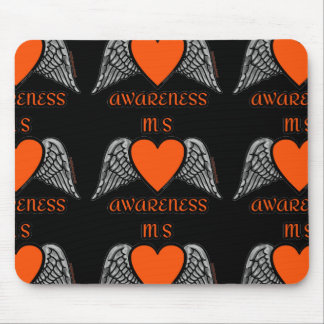 Heart/Wings...MS Mouse Pad