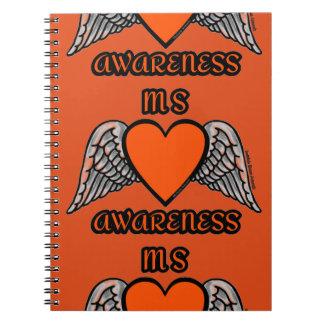 Heart/Wings...MS Notebooks